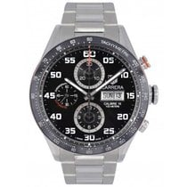 TAG Heuer Carrera Calibre 16 Acero 43mm Negro