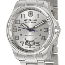 Victorinox Swiss Army Officer's 125 Automatic Steel Mens Watch...