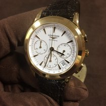Longines Yellow gold 39mm Automatic L47186220 new