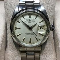 Rolex Oyster Perpetual Date Stal 34mm Biały