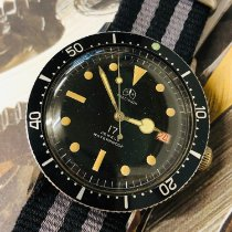 捷克豹 鋼 37mm 手動發條 Ollech & Wajs Precision Divers watch 二手