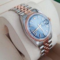 Rolex 36mm Automatik 1970 gebraucht Blau
