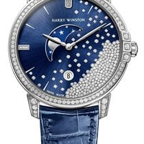 Harry Winston Midnight 450/LQMP39WL.BD1/D3.1 new