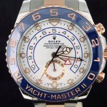Rolex Yacht-Master II tweedehands 44mm Goud/Staal