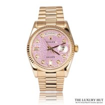 Rolex Day-Date 36 Rose gold 36mm Pink United Kingdom, London