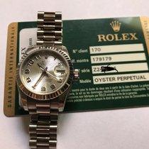 Rolex Lady-Datejust Oro bianco 26mm Argento Arabo Italia, Cremona
