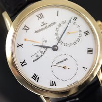 Jaeger-LeCoultre pre-owned Automatic 35,50mm White Sapphire Glass 10 ATM