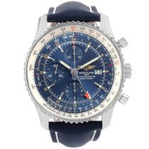 Breitling Navitimer World Steel 46mm Blue United States of America, Georgia, Atlanta