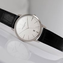 Vacheron Constantin Patrimony White gold 40mm Silver No numerals United States of America, New Jersey, Princeton