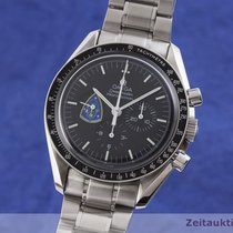 Omega Speedmaster Professional Moonwatch occasion 41.5mm Noir Chronographe Acier