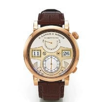 A. Lange & Söhne Zeitwerk Rose gold Silver United States of America, New York, New York