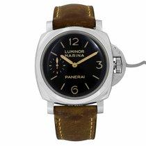 Panerai Luminor Marina 1950 3 Days Steel 47mm Black Arabic numerals United States of America, New York, NYC