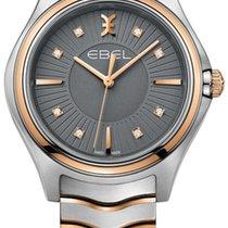 Ebel Wave Gold/Steel 35mm Grey No numerals