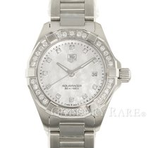 TAG Heuer Aquaracer Lady Steel 27mm Mother of pearl No numerals
