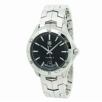 TAG Heuer Link Calibre 5 Steel 41mm Black United States of America, New York, New York