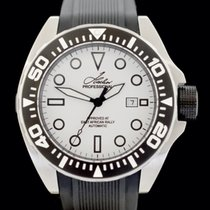 Hacher Steel Automatic White No numerals 50mm new