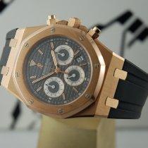 Audemars Piguet Royal Oak Chronograph Roségold 39mm Grau Keine Ziffern Schweiz, Roveredo
