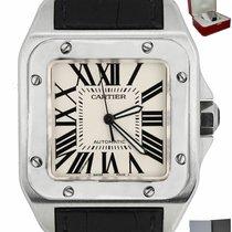 Cartier Santos 100 W20121U2 подержанные