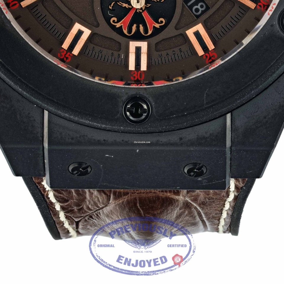 ddf9e19fb27 Hublot King Power Arturo Fuente OPUS X por R  67.502 para vender por um  Trusted Seller na Chrono24