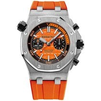 Audemars Piguet Royal Oak Offshore Diver Chronograph Steel 42mm Orange