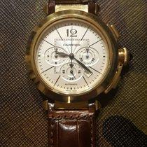 Cartier Pasha nuevo Automático Cronógrafo Reloj con estuche y documentos originales W3020151