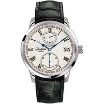 Glashütte Original Senator Chronometer White gold 42mm Silver Roman numerals United States of America, Pennsylvania, Holland