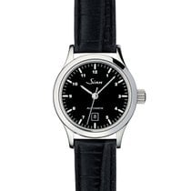 Sinn 456 Steel 28mm Black Arabic numerals
