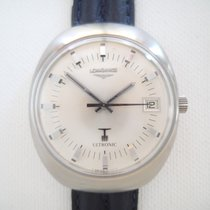 Longines Ultronic with stunning dial steel mens vintage watch ...
