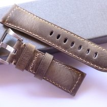 Bodhy 26/22mm Old leather band - 26mm Strap Panerai style