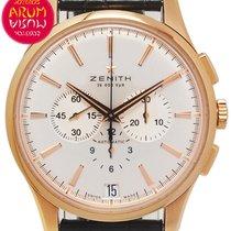 Zenith Captain Chronograph Oro rosado 42mm Plata España, Madrid