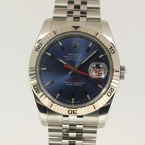 Rolex Datejust Turn-O-Graph blue from 2012 complete with B+P