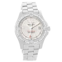 Breitling Colt Oceane Stainless Steel Diamond Ladies Watch A77380