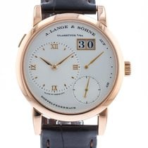 朗格  Lange 1 101.032 Watch with Leather Bracelet and 18k Rose...