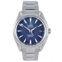 Omega Seamaster Aqua Terra Steel 41.5mm Blue United Kingdom, Blackburn