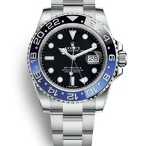 "Rolex GMT-Master II ""Batman"" Stainless Steel"