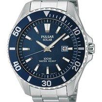 Pulsar Wrist Watches Men's PX3067 Solar Dress Analog Display...
