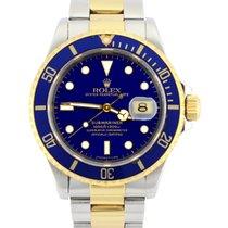 Rolex Submariner Date Gold/Steel 40mm Blue No numerals United Kingdom, Manchester