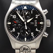 IWC IW377704 Steel Pilot Chronograph 43mm pre-owned United States of America, Florida, Boca Raton