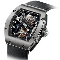 Richard Mille 45mm Manual winding pre-owned Grey