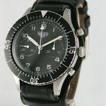 Heuer Хронограф 43mm Механические 1974 подержанные Чёрный