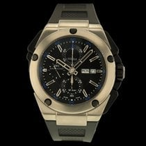 IWC Ingenieur Double Chronograph Titanium Titanium 45.5mm Black