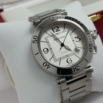 Cartier Pasha Seatimer Steel 41mm Silver Arabic numerals United States of America, California, Los Angeles