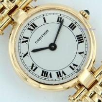Cartier Gelbgold 24mm Quarz 810020386 gebraucht