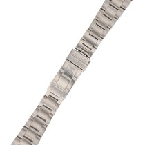 8d952e463f0 Rolex stainless steel Oyster bracelet with flip-lock buckle