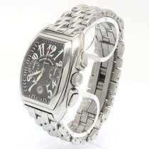 Franck Muller Conquistador 8005 CC Very good Steel 49mm Automatic