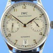 IWC Portugieser Automatik Stahl 42.3mm Silber Deutschland, Berlin
