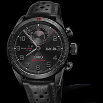 Oris Audi Sport new Automatic Chronograph Watch with original box and original papers 778 7661 7784