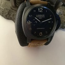 Panerai Luminor 1950 3 Days GMT Automatic Ceramic 44mm Black Arabic numerals Australia, Parkville