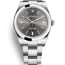 Rolex Oyster Perpetual 39 Steel 39mm No numerals United States of America, New Jersey, Totowa