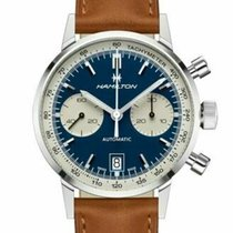 Hamilton Intra-Matic Steel 40mm Blue United States of America, New Jersey, Cherry Hill